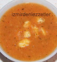 Hellimli Tarhana Çorbası