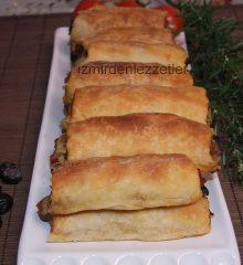 Patlıcanlı Börek (Elde Açma)