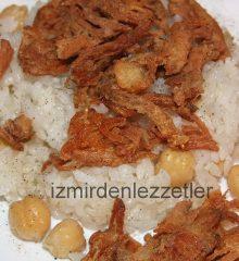 Çıtır Tavuklu Pilav