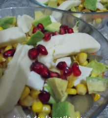 Avakadolu Mevsim Salatası