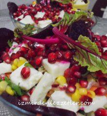 Pancar Turşulu Narlı Mevsim Salata