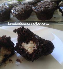 Çikolatalı Kokostar Muffin