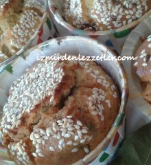 Peynirli Dereotlu Muffin