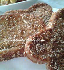 Yumurtalı Kahvaltılık Ekmek