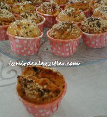 Peynirli Mini Muffinler