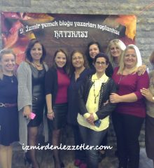 9.İzmirli Yemek Yazarları Toplantısı