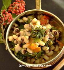Arapsaçlı Kuru Börülce Yemeği