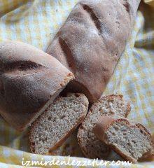 Tam Buğday Unu ile Baget Ekmek Yapımı