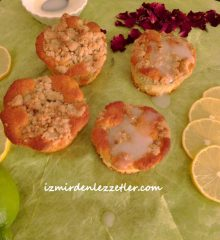 LİMONLU CRUMBLE MUFFİN