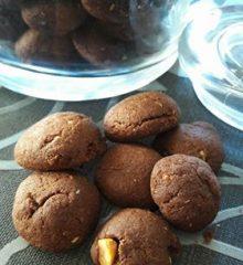 Kakaolu Fındıklı Lokmalık Kurabiye